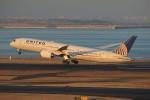 メンチカツさんが、羽田空港で撮影したユナイテッド航空 787-9の航空フォト(飛行機 写真・画像)