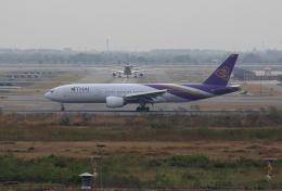 tsubameさんが、スワンナプーム国際空港で撮影したタイ国際航空 777-2D7/ERの航空フォト(飛行機 写真・画像)