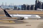 ハム太郎。さんが、羽田空港で撮影したルフトハンザドイツ航空 A350-941XWBの航空フォト(飛行機 写真・画像)