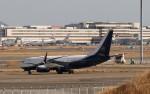 ハム太郎。さんが、羽田空港で撮影したボーイング・ビジネス・ジェット 737-77Z BBJの航空フォト(飛行機 写真・画像)