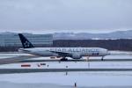 GRX135さんが、新千歳空港で撮影した全日空 777-281の航空フォト(飛行機 写真・画像)