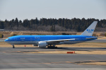 Cスマイルさんが、成田国際空港で撮影したKLMオランダ航空 777-206/ERの航空フォト(飛行機 写真・画像)