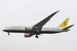 BTYUTAさんが、ロンドン・ヒースロー空港で撮影したロイヤルブルネイ航空 787-8 Dreamlinerの航空フォト(飛行機 写真・画像)