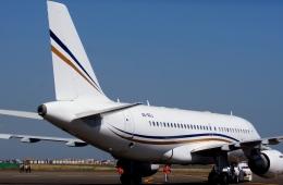 KAZKAZさんが、羽田空港で撮影したロタナ・ジェット・アヴィエーション A319-115CJの航空フォト(飛行機 写真・画像)