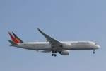 imosaさんが、羽田空港で撮影したフィリピン航空 A350-941XWBの航空フォト(飛行機 写真・画像)