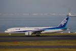 ゆーすきんさんが、羽田空港で撮影した全日空 777-281/ERの航空フォト(飛行機 写真・画像)