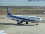 ヒロリンさんが、羽田空港で撮影した全日空 A321-211の航空フォト(飛行機 写真・画像)