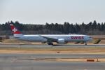 Cスマイルさんが、成田国際空港で撮影したスイスインターナショナルエアラインズ 777-3DE/ERの航空フォト(飛行機 写真・画像)