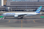 しゃこ隊さんが、羽田空港で撮影したユーロアトランティック・エアウェイズ 777-212/ERの航空フォト(飛行機 写真・画像)