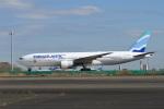 sonnyさんが、羽田空港で撮影したユーロアトランティック・エアウェイズ 777-212/ERの航空フォト(飛行機 写真・画像)