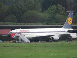 た~きゅんさんが、ハンブルク空港で撮影したルフトハンザドイツ航空 707-430の航空フォト(飛行機 写真・画像)
