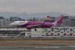 344さんが、福岡空港で撮影したピーチ A320-214の航空フォト(飛行機 写真・画像)