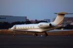 KAZKAZさんが、羽田空港で撮影したアメリカ企業所有 G-V-SP Gulfstream G550の航空フォト(飛行機 写真・画像)