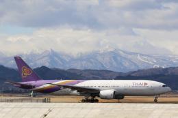 やまけんさんが、仙台空港で撮影したタイ国際航空 777-2D7の航空フォト(飛行機 写真・画像)