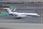 しゃこ隊さんが、羽田空港で撮影した海上保安庁 G-V Gulfstream Vの航空フォト(飛行機 写真・画像)