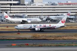 sonnyさんが、羽田空港で撮影した日本航空 767-346/ERの航空フォト(飛行機 写真・画像)