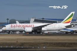 tassさんが、成田国際空港で撮影したエチオピア航空 787-8 Dreamlinerの航空フォト(飛行機 写真・画像)