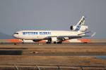 OMAさんが、岩国空港で撮影したウエスタン・グローバル・エアラインズ MD-11Fの航空フォト(飛行機 写真・画像)