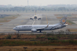 tsubameさんが、スワンナプーム国際空港で撮影したミャンマー・ナショナル・エアウェイズ 737-86Nの航空フォト(飛行機 写真・画像)