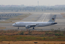 tsubameさんが、スワンナプーム国際空港で撮影したミャンマー国際航空 A320-214の航空フォト(飛行機 写真・画像)