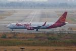 tsubameさんが、スワンナプーム国際空港で撮影したスパイスジェット 737-86Nの航空フォト(飛行機 写真・画像)