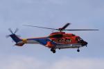 yabyanさんが、中部国際空港で撮影した新日本ヘリコプター AS332L1 Super Pumaの航空フォト(飛行機 写真・画像)