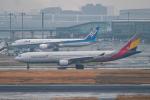 はやたいさんが、羽田空港で撮影したアシアナ航空 A330-323Xの航空フォト(飛行機 写真・画像)