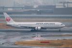 はやたいさんが、羽田空港で撮影した日本航空 767-346/ERの航空フォト(飛行機 写真・画像)