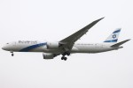 BTYUTAさんが、ロンドン・ヒースロー空港で撮影したエル・アル航空 787-9の航空フォト(飛行機 写真・画像)