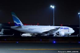 kina309さんが、羽田空港で撮影したユーロアトランティック・エアウェイズ 777-212/ERの航空フォト(飛行機 写真・画像)