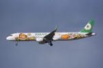 kumagorouさんが、仙台空港で撮影したエバー航空 A321-211の航空フォト(飛行機 写真・画像)