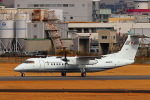 khideさんが、伊丹空港で撮影した国土交通省 航空局 DHC-8-315Q Dash 8の航空フォト(飛行機 写真・画像)