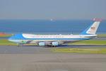 ちゃぽんさんが、羽田空港で撮影したアメリカ空軍 VC-25A (747-2G4B)の航空フォト(飛行機 写真・画像)