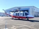 kingmengraiさんが、ホンダエアポートで撮影した埼玉県防災航空隊 AW139の航空フォト(飛行機 写真・画像)