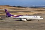ドリさんが、福島空港で撮影したタイ国際航空 A330-343Xの航空フォト(飛行機 写真・画像)