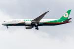 I.K.さんが、成田国際空港で撮影したエバー航空 787-9の航空フォト(飛行機 写真・画像)