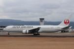 ゆう改めてさんが、熊本空港で撮影した日本航空 767-346/ERの航空フォト(飛行機 写真・画像)