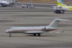 JA8037さんが、羽田空港で撮影したビスタジェット BD-700-1A10 Global 6000の航空フォト(飛行機 写真・画像)