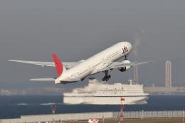 わんだーさんが、中部国際空港で撮影した日本航空 777-346/ERの航空フォト(飛行機 写真・画像)