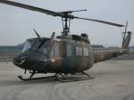 石鎚さんが、入間飛行場で撮影した陸上自衛隊 UH-1Jの航空フォト(飛行機 写真・画像)
