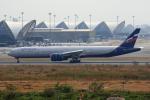 tsubameさんが、スワンナプーム国際空港で撮影したアエロフロート・ロシア航空 777-3M0/ERの航空フォト(飛行機 写真・画像)