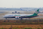 tsubameさんが、スワンナプーム国際空港で撮影したエバー航空 787-9の航空フォト(飛行機 写真・画像)