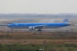 tsubameさんが、スワンナプーム国際空港で撮影したKLMオランダ航空 777-306/ERの航空フォト(飛行機 写真・画像)