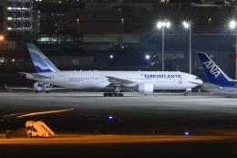 kuraykiさんが、羽田空港で撮影したユーロアトランティック・エアウェイズ 777-212/ERの航空フォト(飛行機 写真・画像)