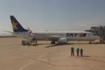 uhfxさんが、神戸空港で撮影したスカイマーク 737-8Q8の航空フォト(飛行機 写真・画像)