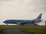 ノリださんが、宮古空港で撮影した日本トランスオーシャン航空 737-4Q3の航空フォト(飛行機 写真・画像)