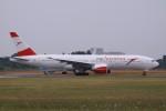Mr.boneさんが、成田国際空港で撮影したオーストリア航空 777-2Z9/ERの航空フォト(飛行機 写真・画像)