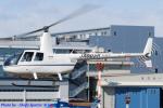 Chofu Spotter Ariaさんが、東京ヘリポートで撮影した匠航空 R44 Ravenの航空フォト(飛行機 写真・画像)