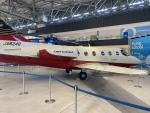 ユターさんが、あいち航空ミュージアムで撮影した三菱重工業 MU-300 Diamond 1の航空フォト(飛行機 写真・画像)