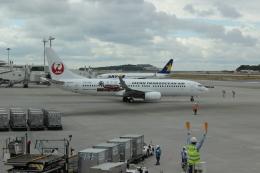 uhfxさんが、那覇空港で撮影した日本トランスオーシャン航空 737-8Q3の航空フォト(飛行機 写真・画像)